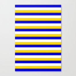 Bosnia Herzegovina Uruguay flag stripes Canvas Print