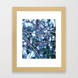 Ice Winds Framed Art Print