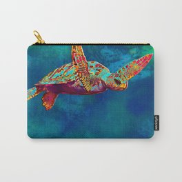 Flight of the Turtle Carry-All Pouch