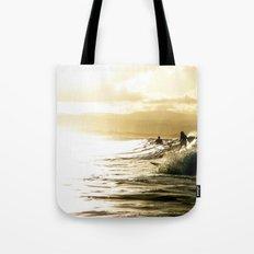 Surf Sunset Tote Bag