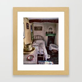1930's Bedroom Framed Art Print
