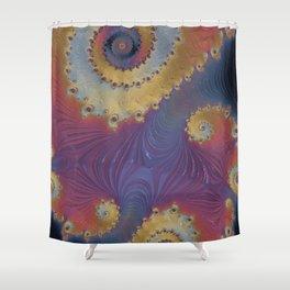 Nebulous - Fractal Art Shower Curtain