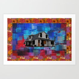 House In B Flat Art Print