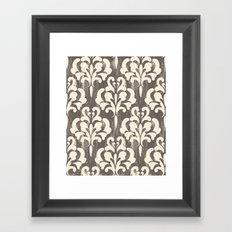 Damask1 Framed Art Print