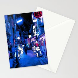 Tokyo alley Stationery Cards