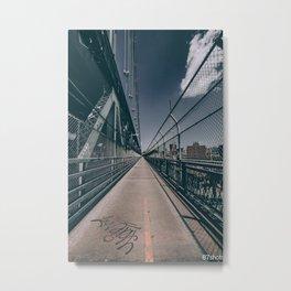 Vanish That Point Metal Print