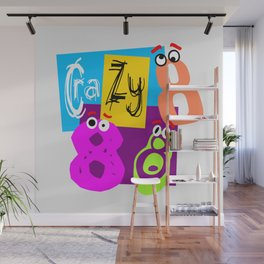Crazy Eights Wall Mural