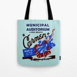 Carmen Long Beach Tote Bag