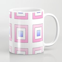 Tribute to mondrian 7- piet,geomtric,geomtrical,abstraction,de  stijl, composition. Coffee Mug