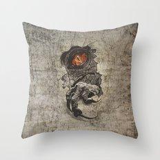 Jurassic Alternate Throw Pillow