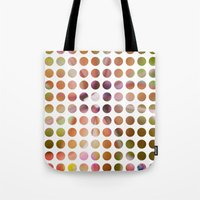 dot Tote Bags featuring Dot by Jeanette Nilssen