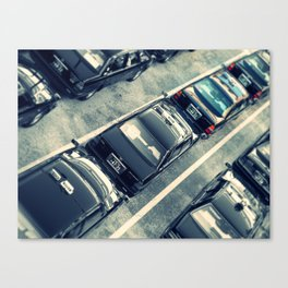 Japanese Taxis Canvas Print