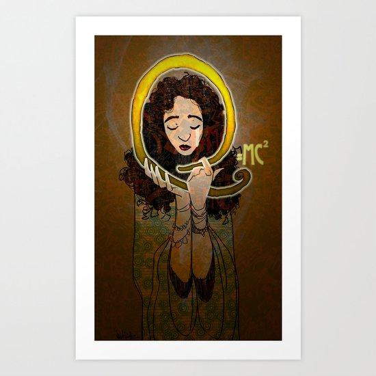 E=mc 2 Art Print