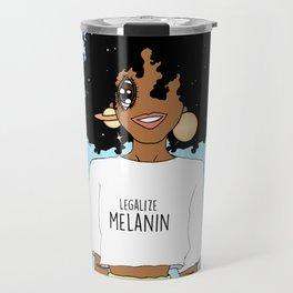 LEGALIZE MELANIN (M) Travel Mug