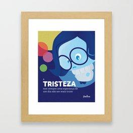 Tristeza Nova Framed Art Print