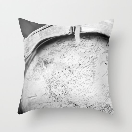Heart for the Nations Throw Pillow