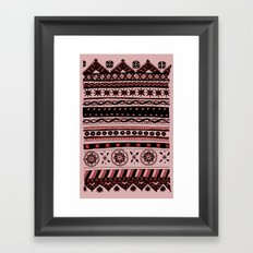 Yzor pattern 005 02 Framed Art Print