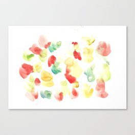 170722 Colour Loving 24 |Modern Watercolor Art | Abstract Watercolors Canvas Print