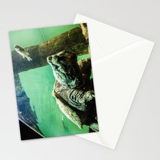 An Alligator Snapping Turtle  Stationery Cards