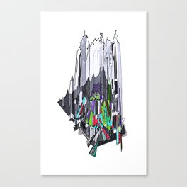 Outburst Canvas Print