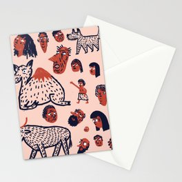 Desert People Stationery Cards
