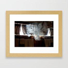 Park Lodge Framed Art Print