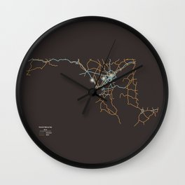 Maryland Highways Wall Clock