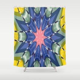 CC No.5 Pinwheel Shower Curtain