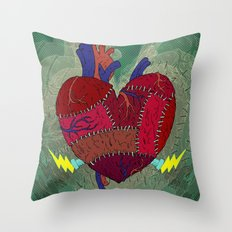 Heartenstein Throw Pillow
