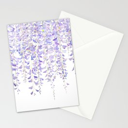 purple wisteria in bloom 2021 Stationery Cards