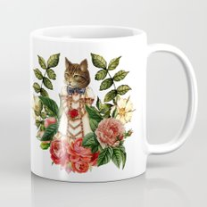 The Rabbit and the Cat Mug