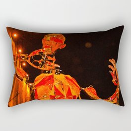 THE PUPPET OF THE THEATRE Rectangular Pillow