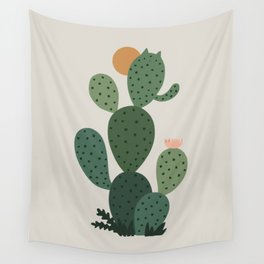 Cat Plants: Cat-tus Wall Tapestry