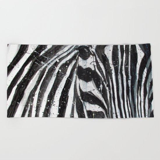 Stripes // The Zebra Beach Towel