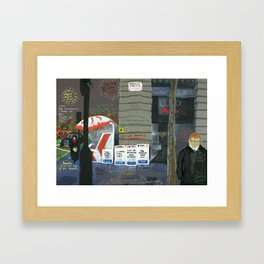 London #3. Berkeley Street W1 Framed Art Print