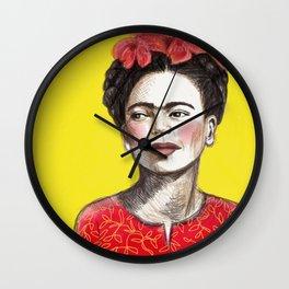 Frida Chinese New Year Wall Clock
