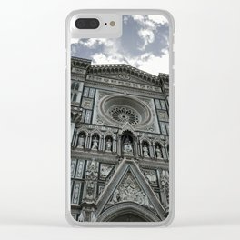 Cathedral of Santa Maria del Fiore #2 Clear iPhone Case
