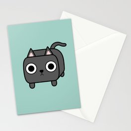 Cat Loaf - Grey Kitty Stationery Cards