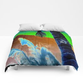 Palm Sunset Comforters