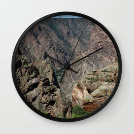 And Deep Down Is A River Wall Clock