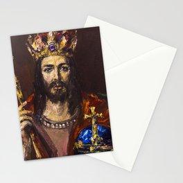 King of Majesty Stationery Cards