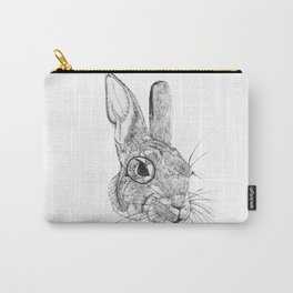 Observing Bunny Carry-All Pouch