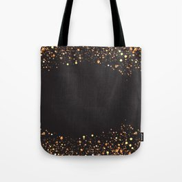 Black and gold #society6 Tote Bag