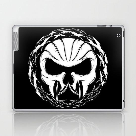 Skull Head Three Laptop & iPad Skin
