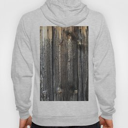 Old Weathered Wood Texture Hoody