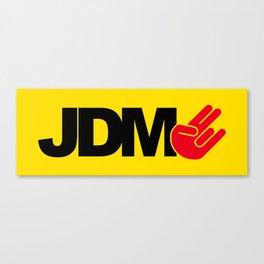 JDM shocker v3 HQvector Canvas Print