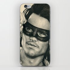 Don Juan de Marco - Johnny Depp Traditional Portrait Print iPhone & iPod Skin