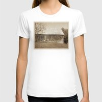tennessee T-shirts featuring Tennessee Farm Vintage Barn by Phil Perkins
