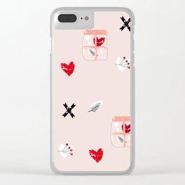 Amsterdam love Clear iPhone Case