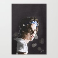 harry Canvas Prints featuring Harry by Judit Mallol